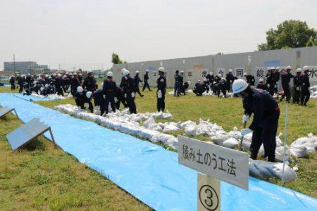 合同総合水防訓練